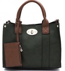 Clutch It To Ya' Stylish Handbag in Olive