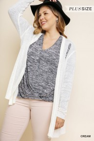 Everything Beautiful Distressed Cardigan Sizes 10-18