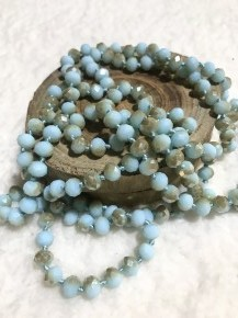 Point Of Perfection Beaded Necklace In Mint to Be