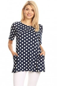 Love My Life Polka Dot Top In Multiple Colors- Sizes 4-10