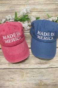 Made In 'Merica Ballcap in Multiple Colors