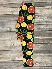 Get Fruity Citrus Legging - Sizes 4-20