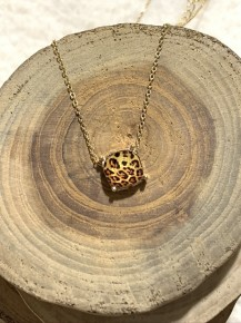 Carey's Leopard Necklace