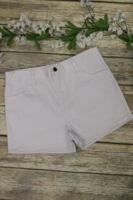 Summer Vacation Jean Shorts in White - Sizes 4-20