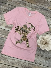Cupid's Love Leopard & Pink ~ Sizes 4-8