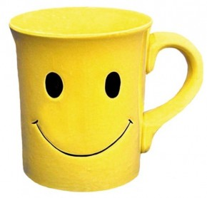Start Your Day With A Smile 16 oz. Coffee Mug