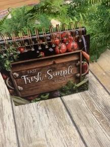 Fast Fresh & Simple Recipe Easelbook