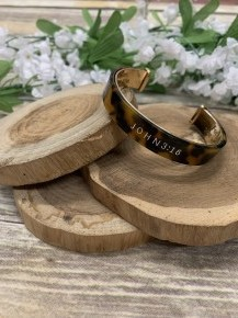 John 3:16 Cuff Bracelet In Multiple Colors