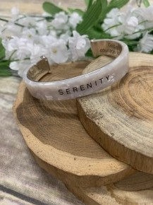 Serenity Cuff Bracelet In Multiple Colors