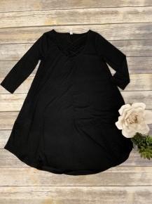 Take It Easy Lattice Dress - Sizes 4-12
