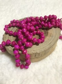 Point Of Perfection Beaded Necklace In Love Affair
