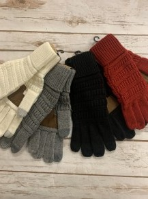 Seriously Missing You CC Gloves With Smart Tips - Multiple Colors