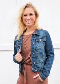 Already Been Working Denim Jacket - Multiple Colors - Sizes 4-20