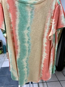 This Screams Summer Short Sleeve Tie Dye Top ~ Sizes 4-12