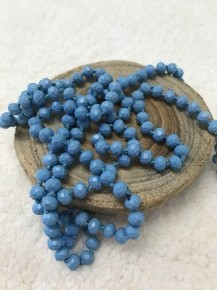 Point Of Perfection Beaded Necklace In Cookie Monster