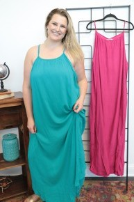 Greatest Love Story Maxi Tank Dress In Multiple Colors - Sizes 4-20