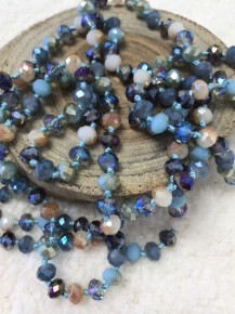Point Of Perfection Beaded Necklace In Ocean Water