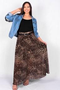 Prove It All Leopard Maxi Skirt - Sizes 4-12