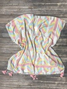 Popsicle Paradise Super Soft Kimono ~ One Size Fits Most 4-20