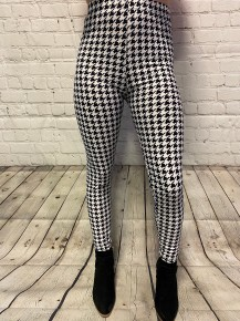Super Soft Houndstooth Leggings - Sizes 4-20