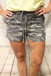 Super Comfy Camo Shorts - Sizes 4-20