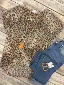 Hear Me Now Leopard Top - Sizes 12-20