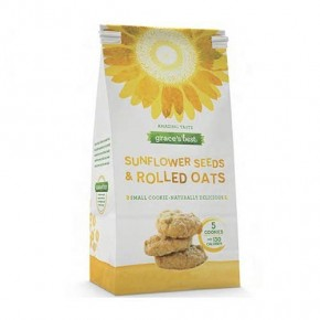 Sunflower Seed And Rolled Oat Cookies