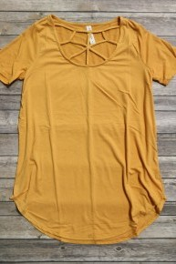 Going On Home Web Neck Basic Top In Multiple Colors- Sizes 4-20 *Final Sale*