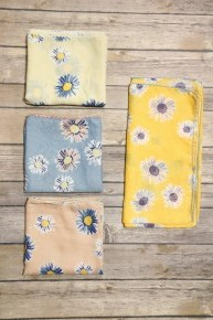 Sunny Day Floral Headband In Multiple Colors