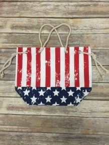Proud To Be An American Canvas Bag