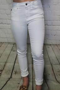 The Ella KanCan White Skinny Jean-Sizes-5-15