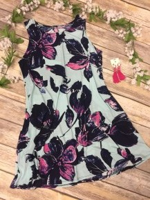 A Walk To Remember Floral Dress In Mint Sizes 12-20