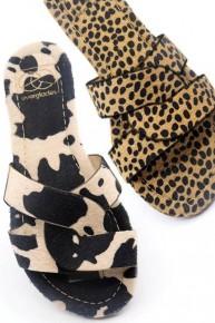 Still Searching Slip On Sandal in Multiple Prints -Sizes 6-10