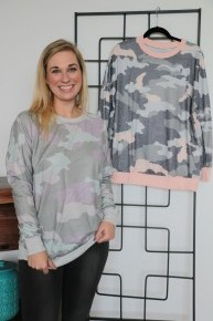 Let Them See Me Camo Long Sleeve Camo Top - Multiple Colors - Sizes 4-12