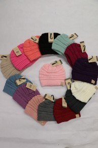 Kids CC Beanie in Multiple Colors