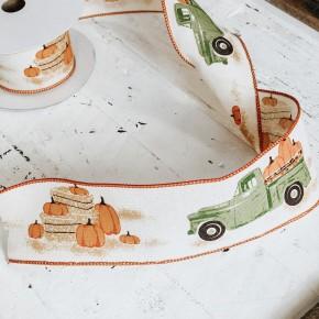 Pumpkin Truck Ribbon