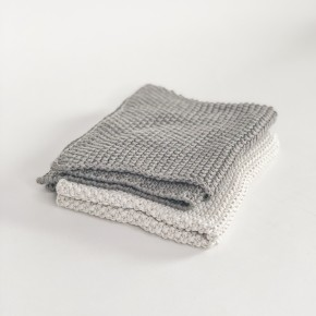 Cotton Knit Dish Cloth Set of 2