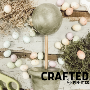 Easter DIY Topiary Kit
