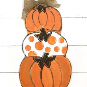 Reversible Pumpkin/Snowman Craft Box