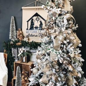 Rustic Woodland Christmas Tree Kit