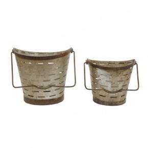 Olive Bucket w/ Handle