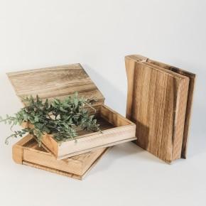 Wooden Book Box