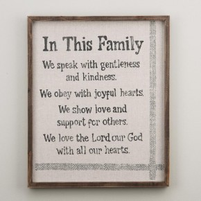 In This Family Fabric Board