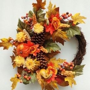 Fall Mixed Wreath