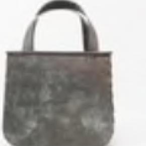Copper Galvanized Metal Shopping Bag