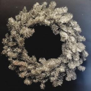 Tinsel Pine Wreath