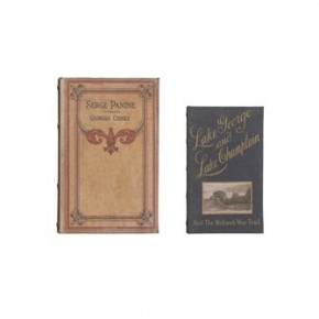 Canvas Book Storage Box