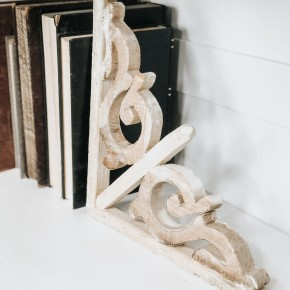 Small Wooden Corbel