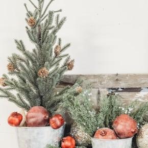 Christmas Tree w/ Burlap Base