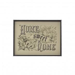 """Home Sweet Home"" Wall Decor"